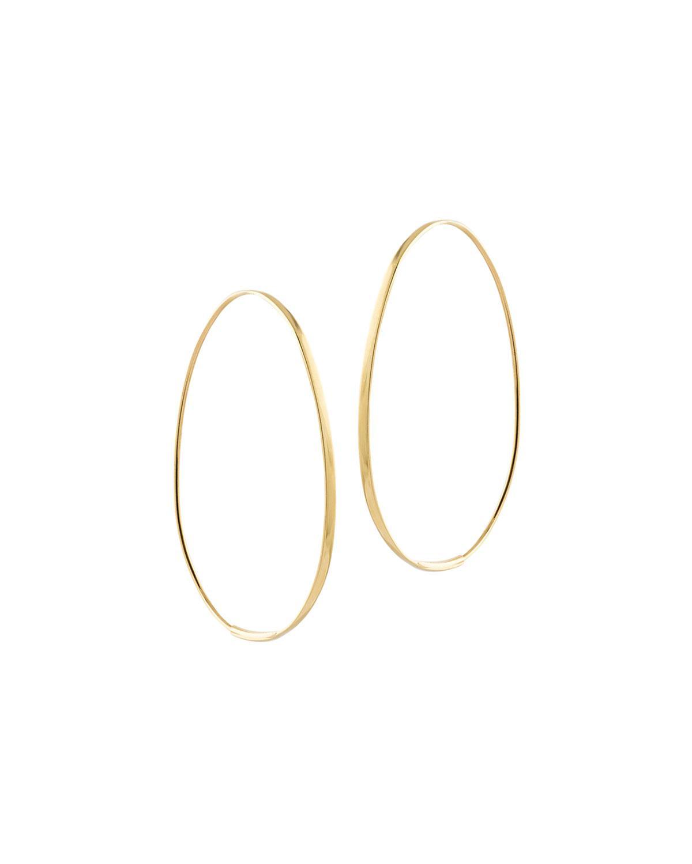 Lana Jewelry Bond Small Tear Hoop Earrings RBbjXqSx6w