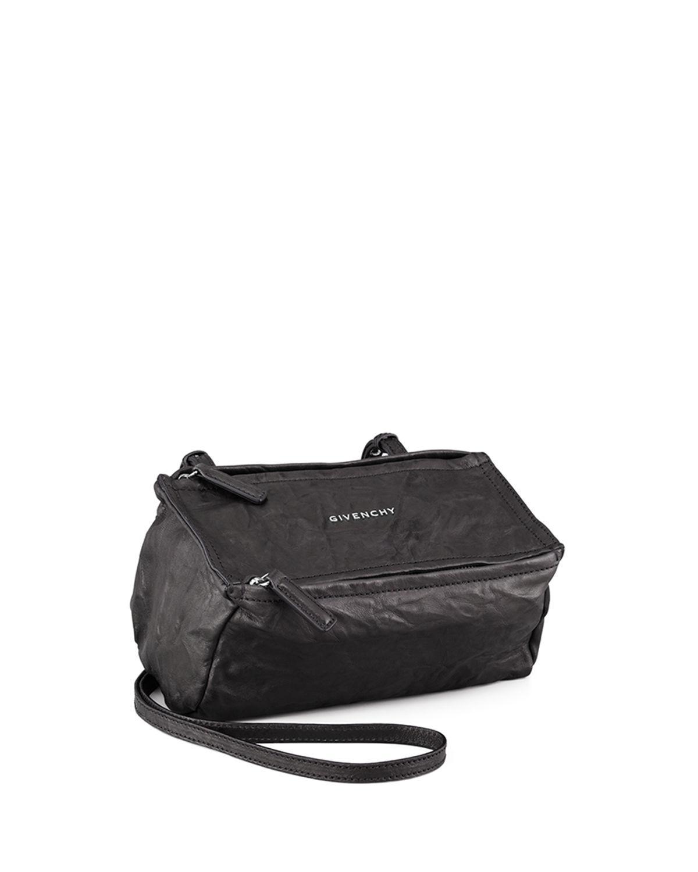 df227a675e Givenchy - Black Pandora Mini Leather Crossbody Bag - Lyst. View fullscreen