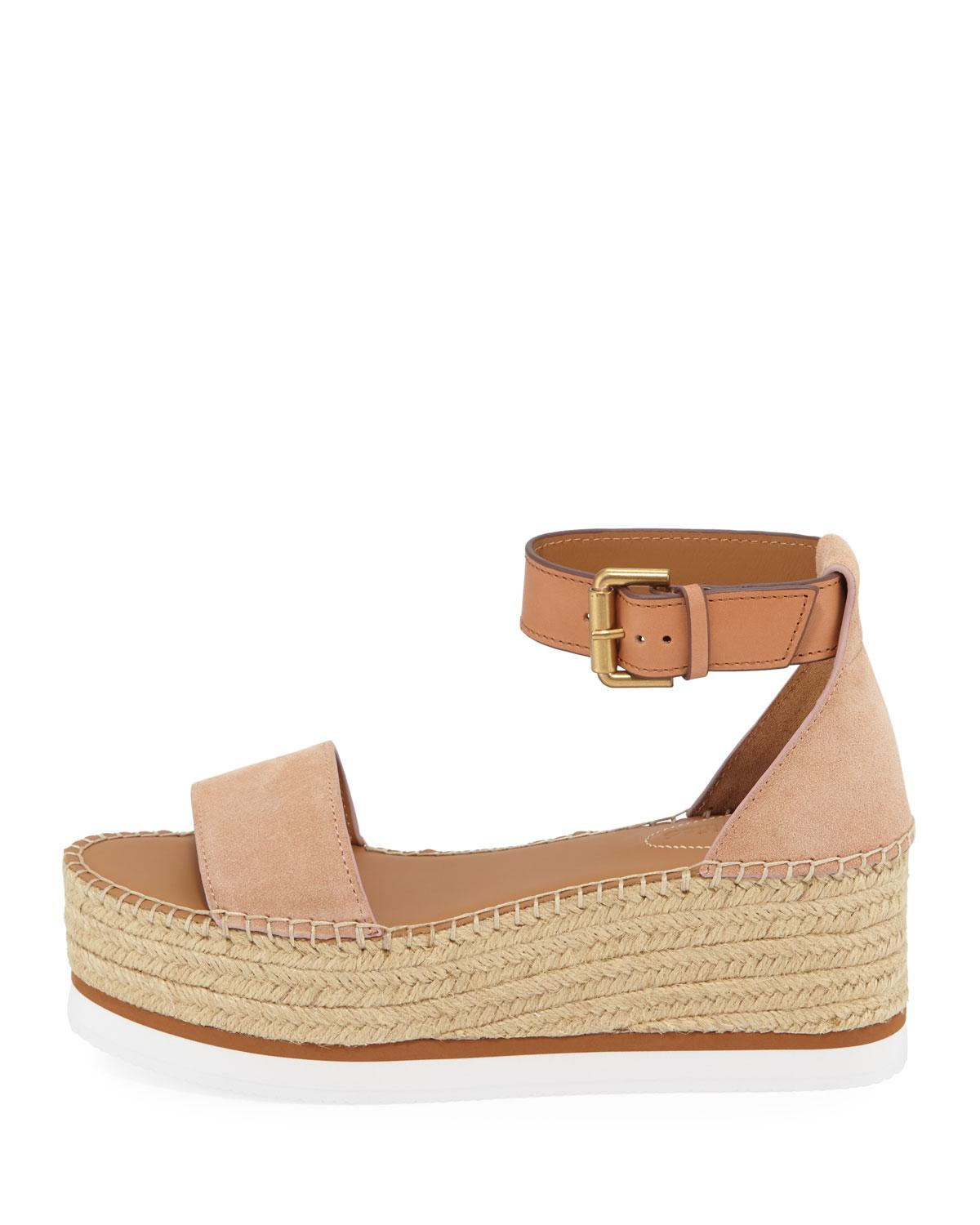 363a0d04d Lyst - See By Chloé Sb32201a Women's Espadrilles / Casual Shoes In Pink in  Pink