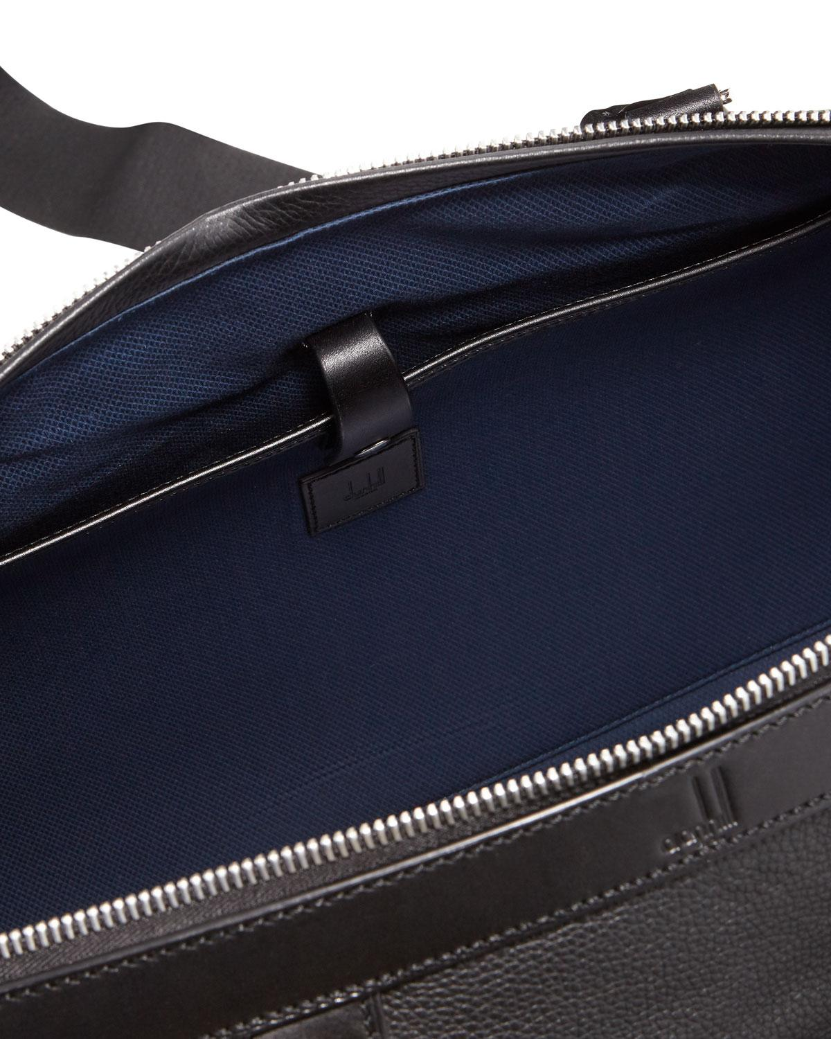 Lyst - Dunhill Leather Duffel Bag in Black for Men a425bde641