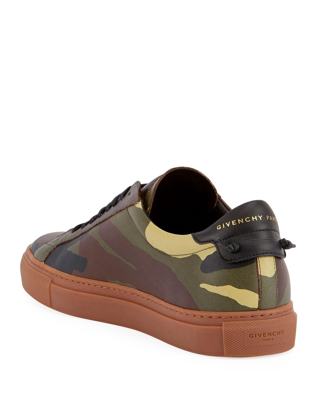 808789aa8c2 Lyst - Givenchy Urban Street Camouflage Leather Low-top Sneaker in ...