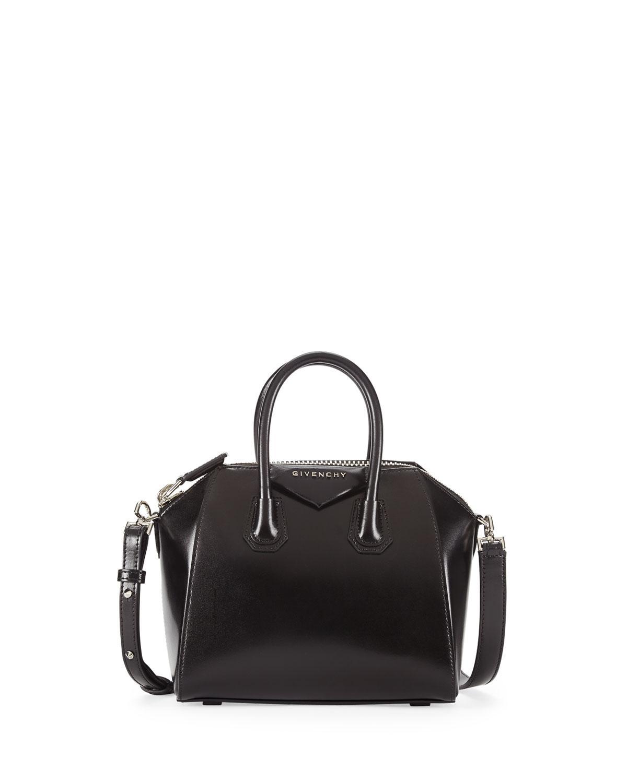 2be74ae211a Givenchy - Black Antigona Mini Box Calfskin Satchel Bag - Lyst. View  Fullscreen