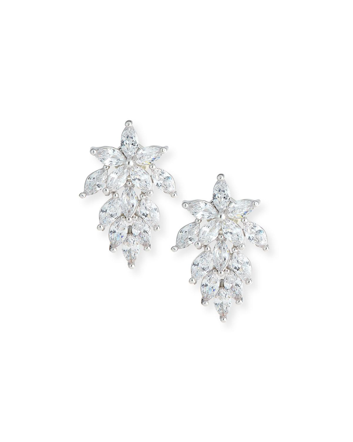 Fallon Monarch Micro Baguette Stud Earrings rNYMwdWs