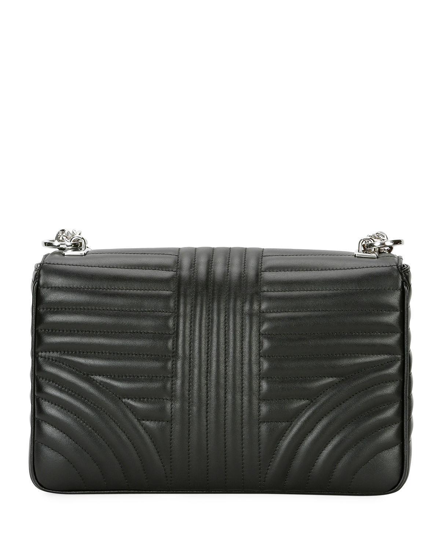 Prada - Black Large Diagramme Shoulder Bag W  Chain Strap - Lyst. View  fullscreen b1ea356e5c9e2