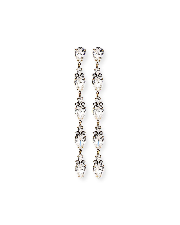 Auden Cordelia Fringe Chain Earrings BzMo3K5