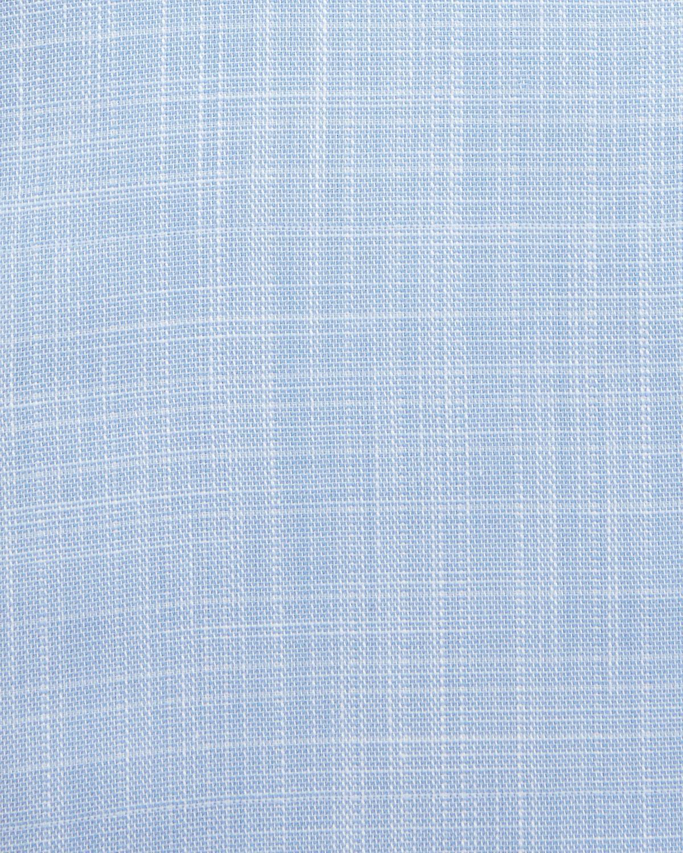 Lyst ermenegildo zegna linen effect dress shirt in blue for men view fullscreen junglespirit Images