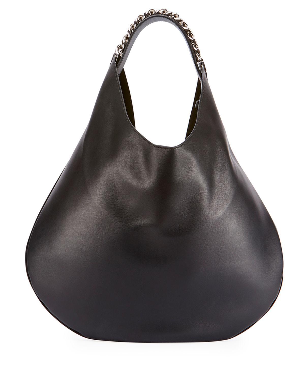 cc840717b7 Lyst - Givenchy Infinity Medium Chain Hobo Bag in Black