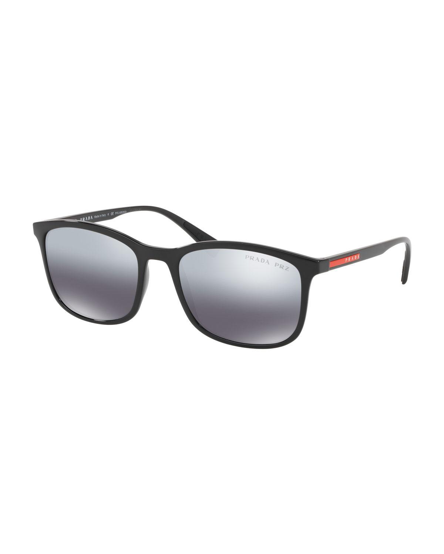b761f2b3423 58aa4 aebf9  good prada. black mens square propionate sunglasses 3621e 3bdbb