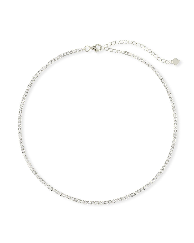 Fallon Baguette Bar Collar Necklace bNTk98KG0L