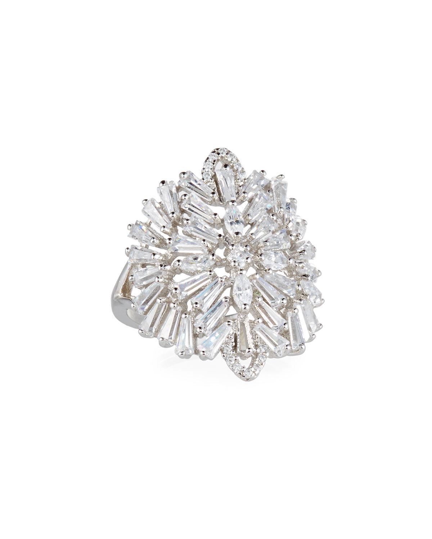 Fallon Monarch Deco Vertical Crystal Ring nqpCp