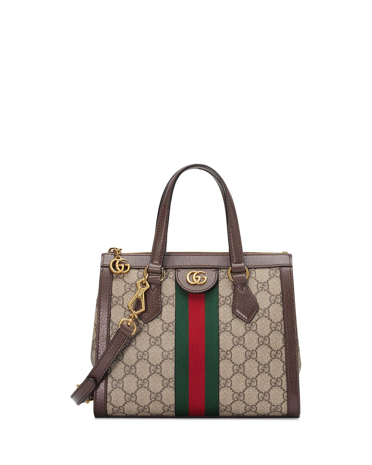 1775075d22f Gucci Ophidia Small GG Tote Bag in Natural - Save 17% - Lyst