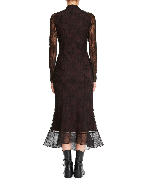DRESSES - 3/4 length dresses Olivier Theyskens Extremely Online CFNVNqzk