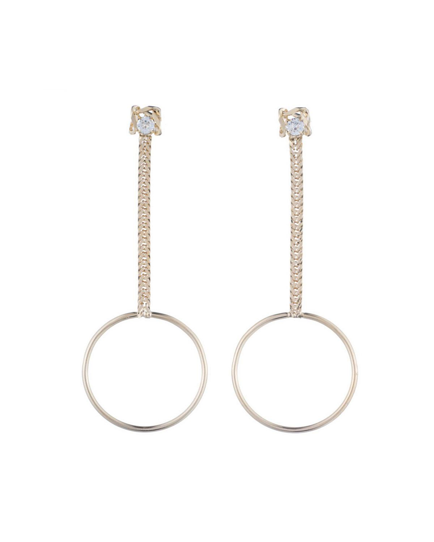 Dannijo Yandal Crystal Statement Earrings 2wgpfT0L