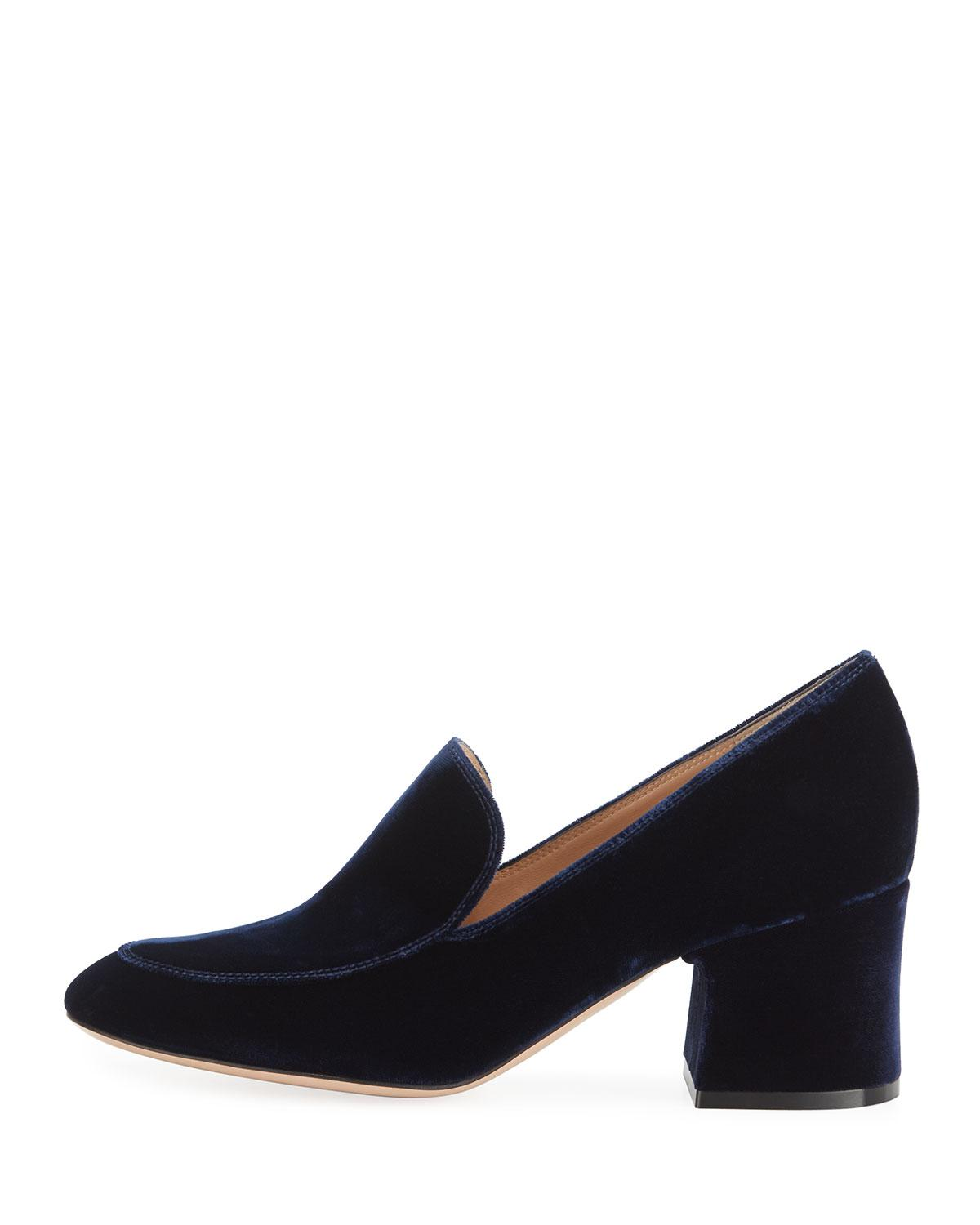 Gianvito Rossi Leather loafer pumps Wwmymi