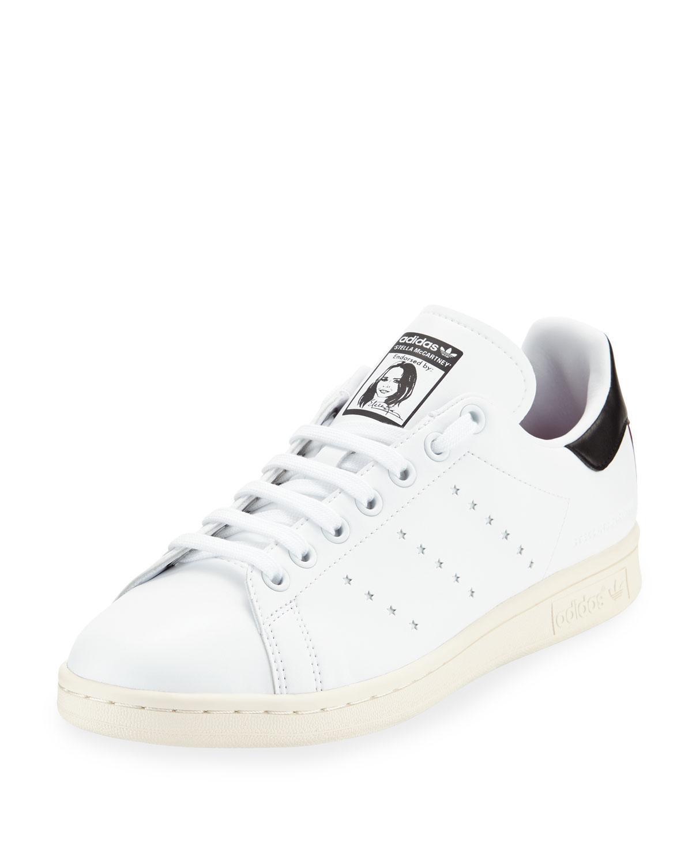 568a318dcf2 Stella McCartney. Men s White Adidas Originals Edition Stan Smith Sneakers