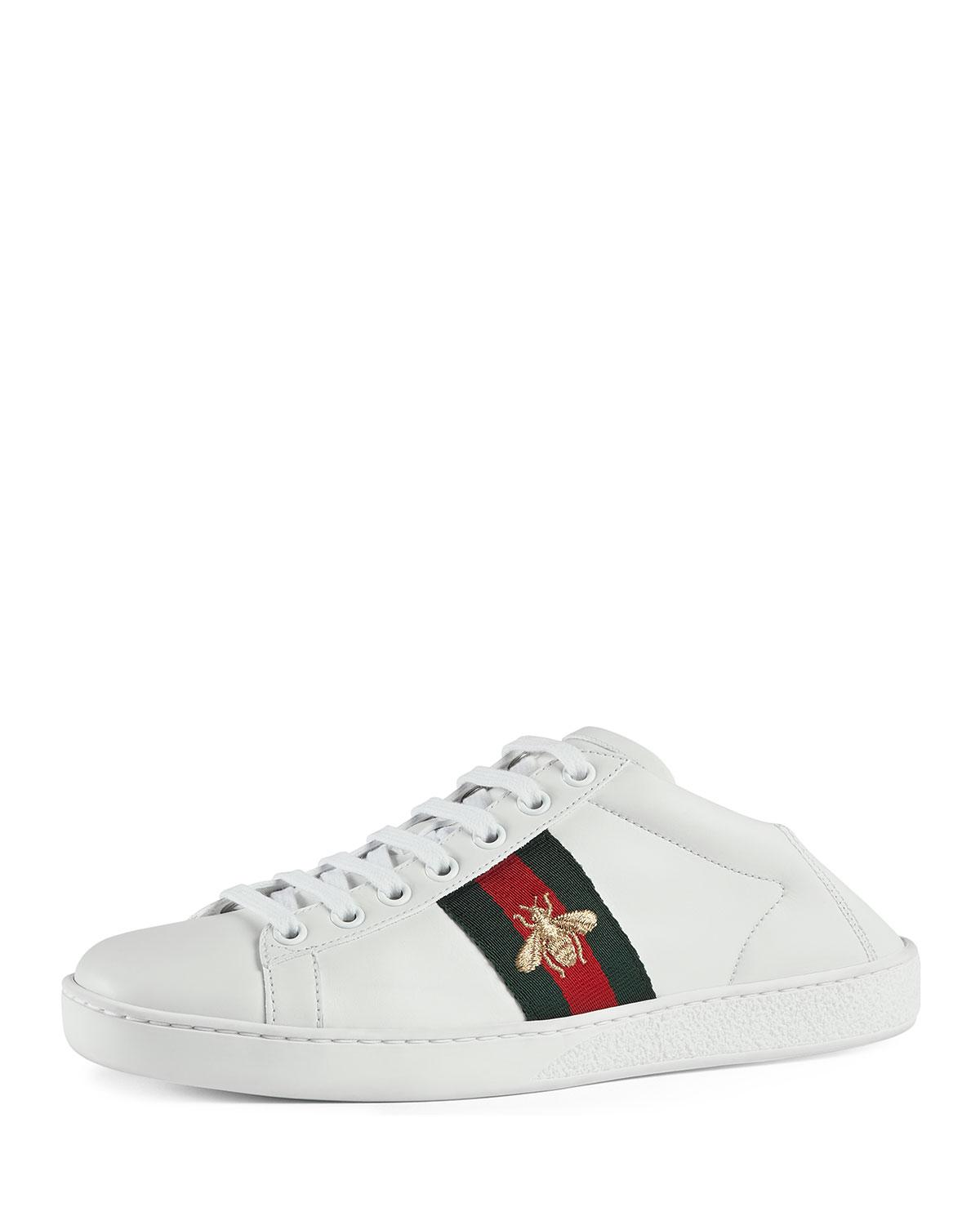 GucciBee Ace Folded Sneakers hG47tL
