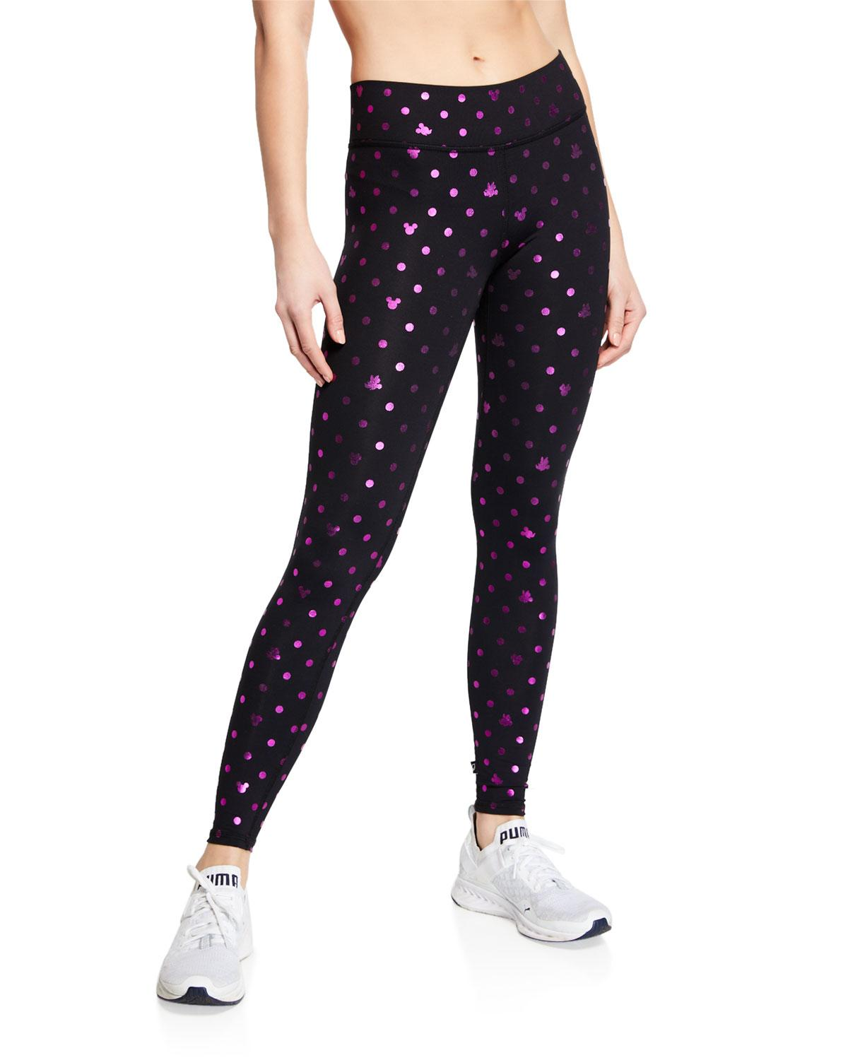 41ead9e6a7cdc1 Terez Foil Mickey Mouse® Printed Tall Band Leggings in Black - Lyst
