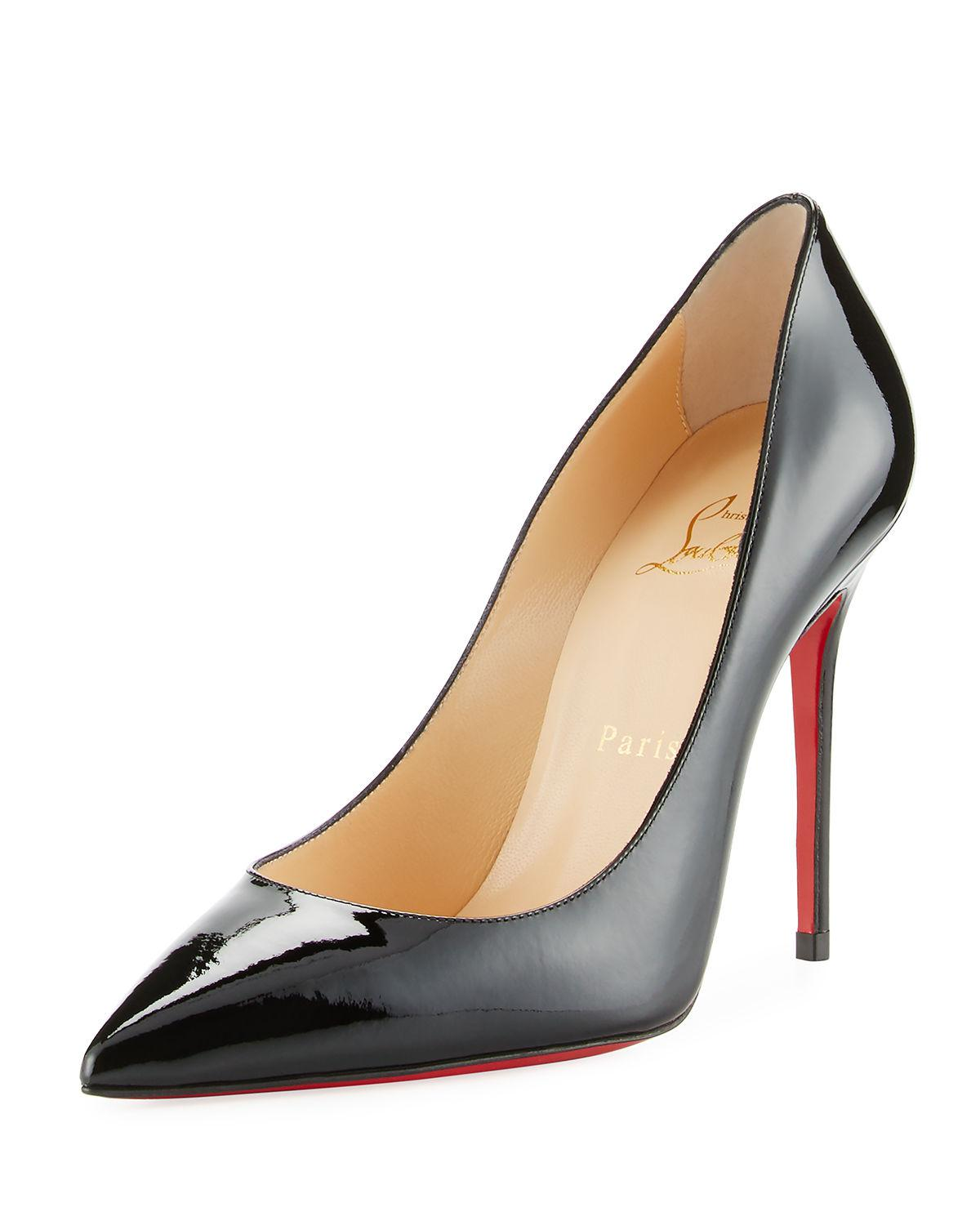 730386cb1f Lyst - Christian Louboutin Decollette Pointed-toe Red Sole Pump in Red