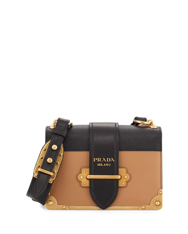 aec142979c59 Prada. Women s Cahier Notebook Shoulder Bag