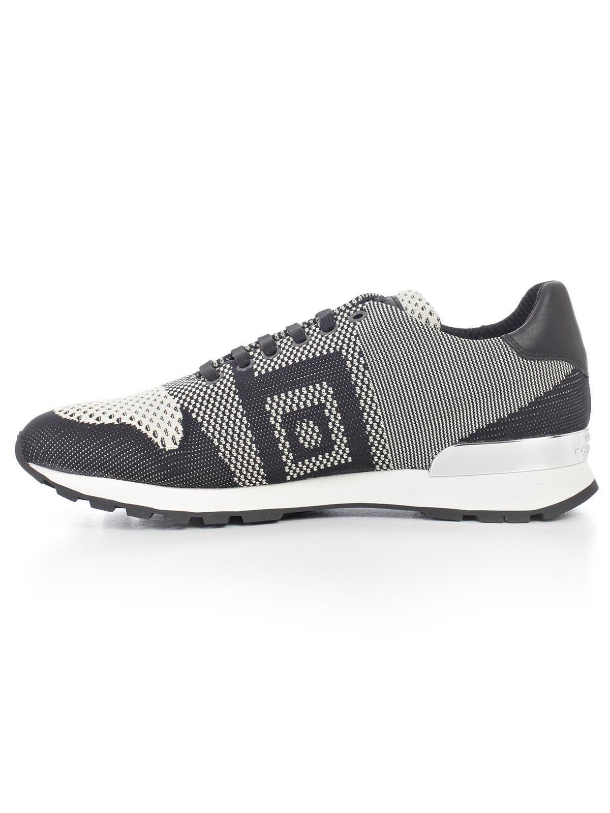 4da21389c Lyst - Versace Scarpa Sneakers in Black for Men