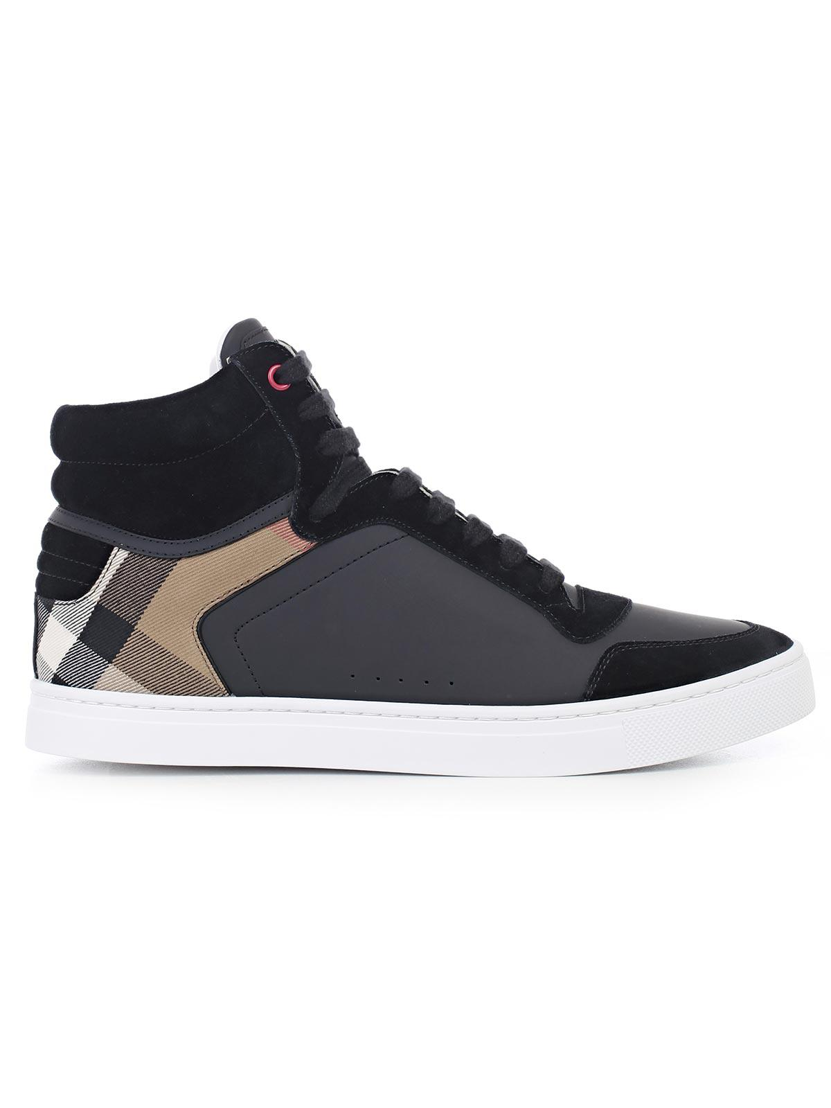 Archive Logo hi-top sneakers - Black Burberry Oqjqid