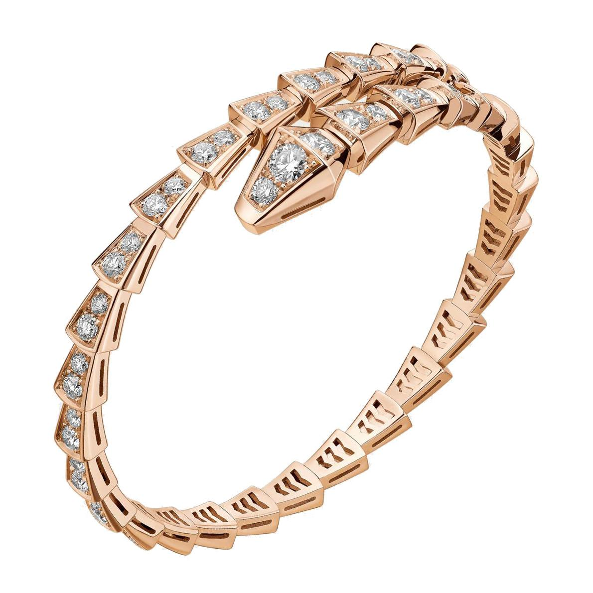 816ade5b888 BVLGARI 18k Rose Gold & Diamond