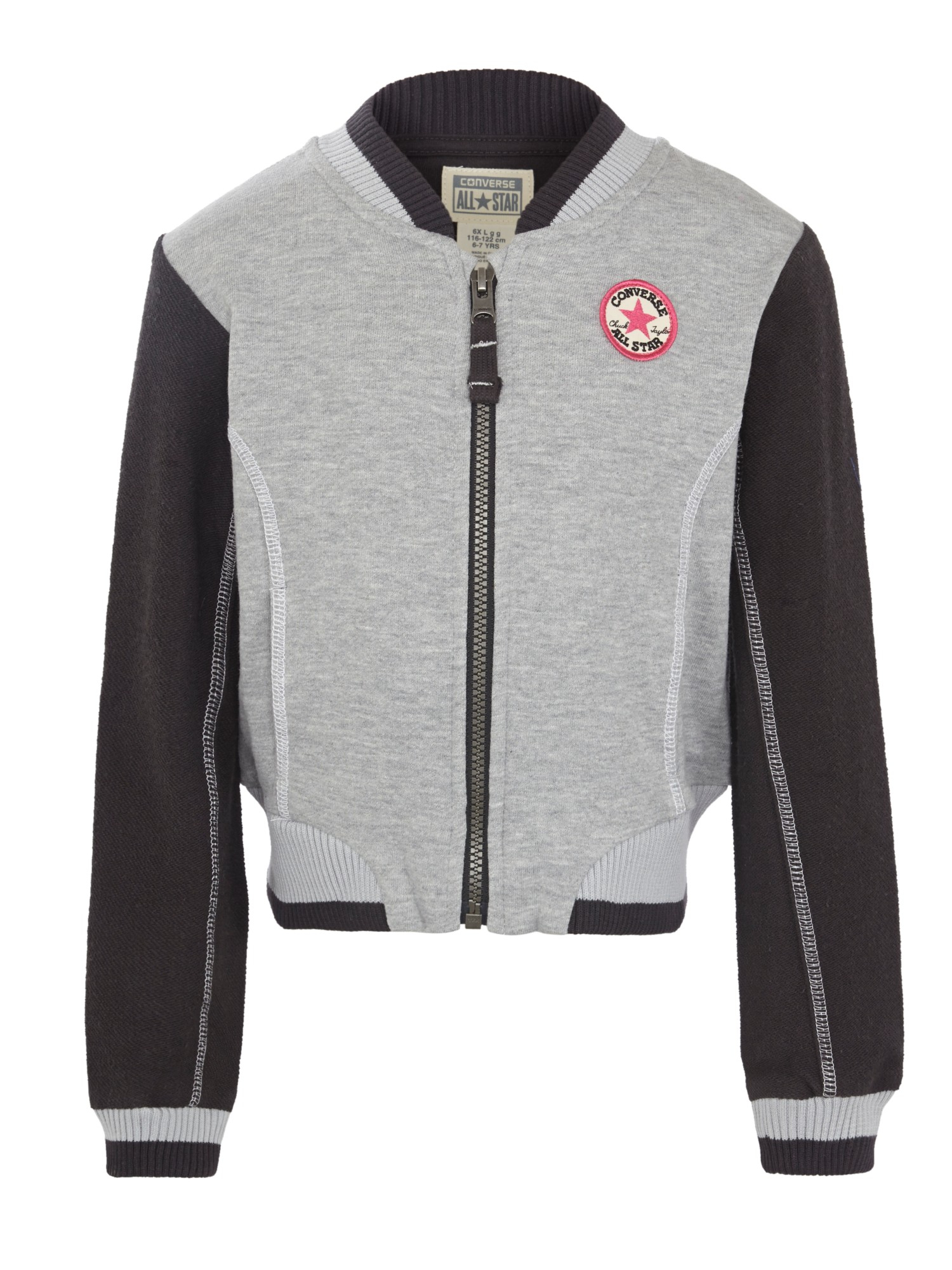 bb2c7fe7d46c15 Converse Girls  Bomber Jacket in Gray for Men - Lyst