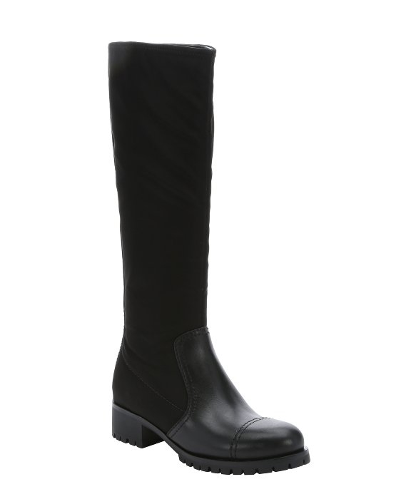 Prada Sport Woven Knee-High Boots new arrival cheap price hXn5l4I