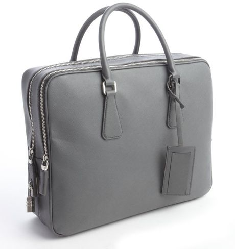 Simple Prada Black Nylon Viaggio Laptop Bag In Black For Men  Lyst