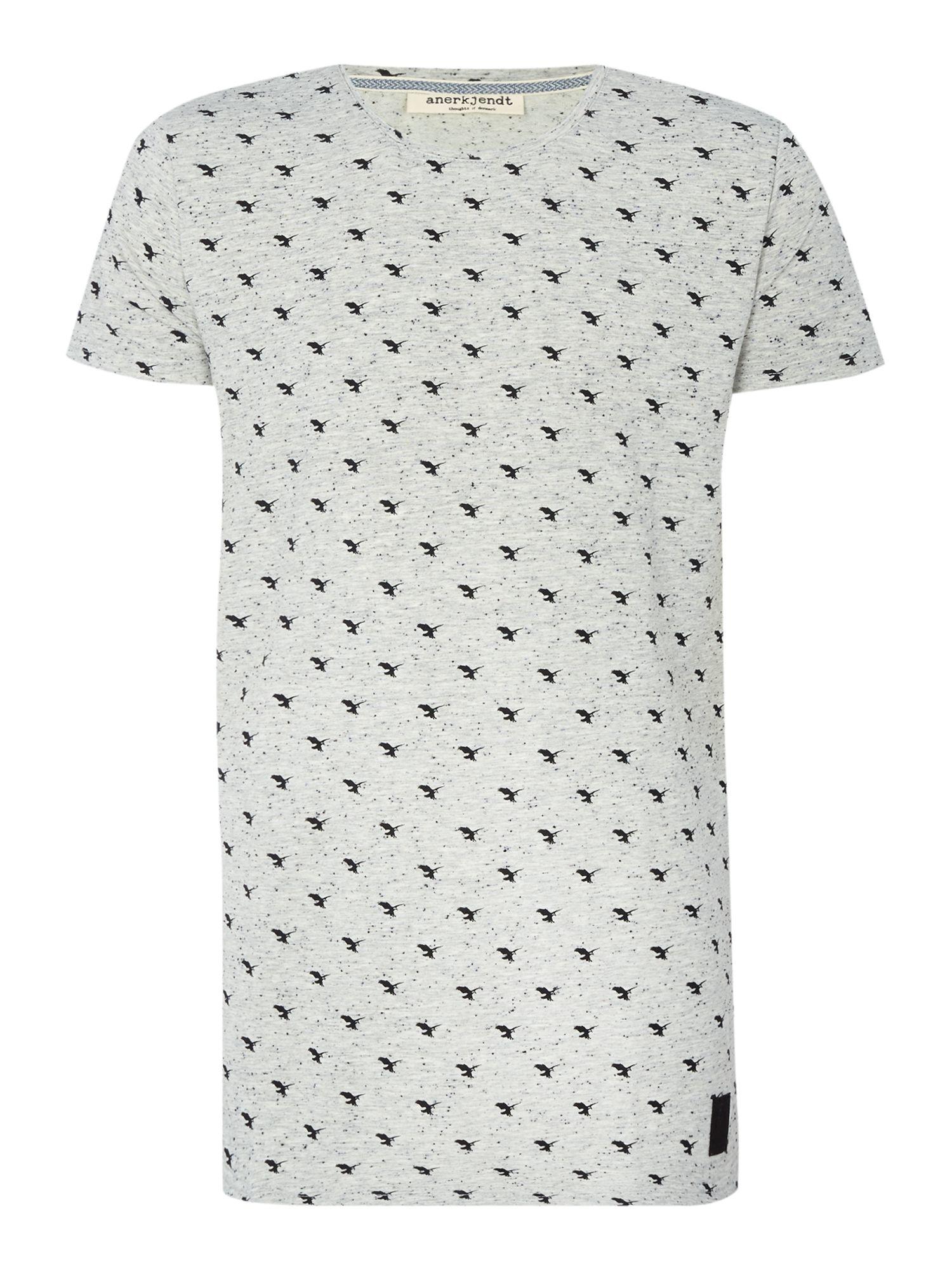 Lyst anerkjendt regular fit all over hawk print t shirt for All over print t shirt