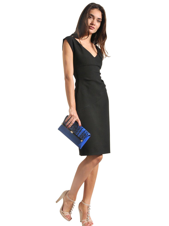 4c6a8e19 Diane von Furstenberg 'Bevin' Ruched Knit Sheath Dress ( Size 10)   eBay