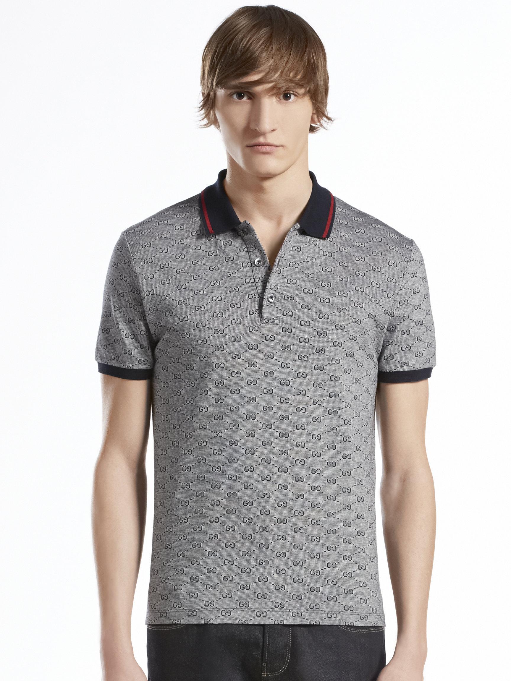 81dba01b5 Mens Gucci Polo Shirt Sale
