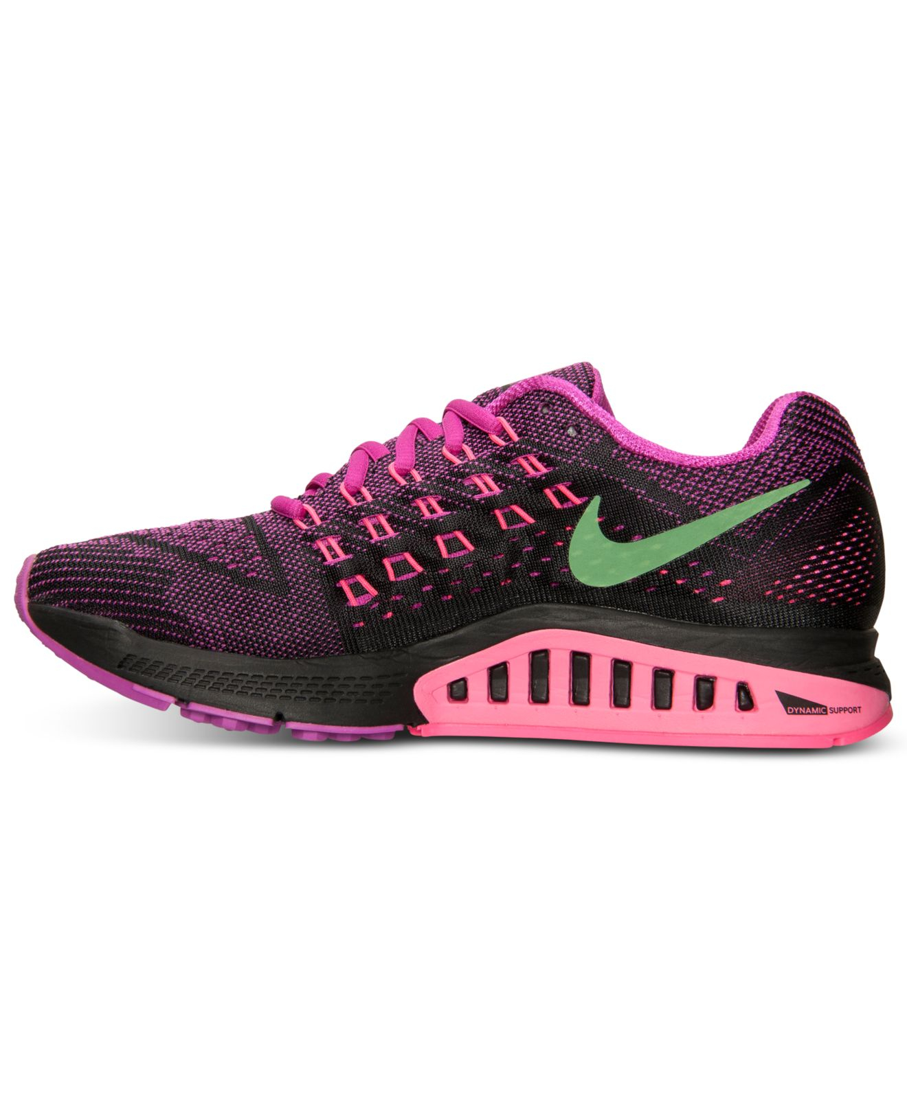 timeless design 8d113 98858 nike zoom structure 18 purple black