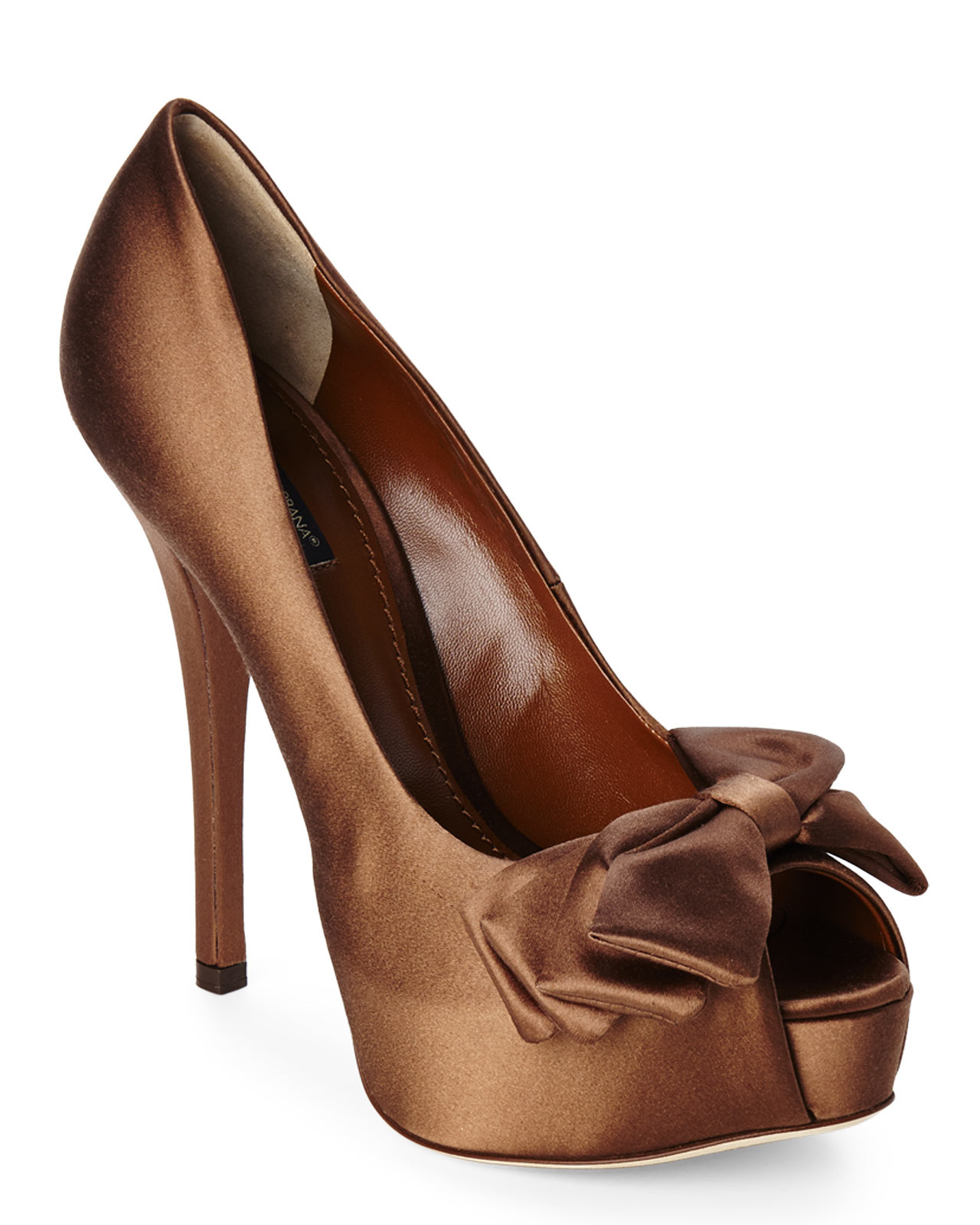 Dolce & Gabbana Satin Bow Pumps release dates cheap online discount best place buy cheap wide range of gZMwW1