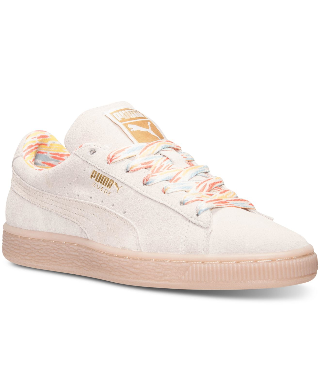 Puma Women's Suede Classic Lo Casual Sneakers From Finish ...