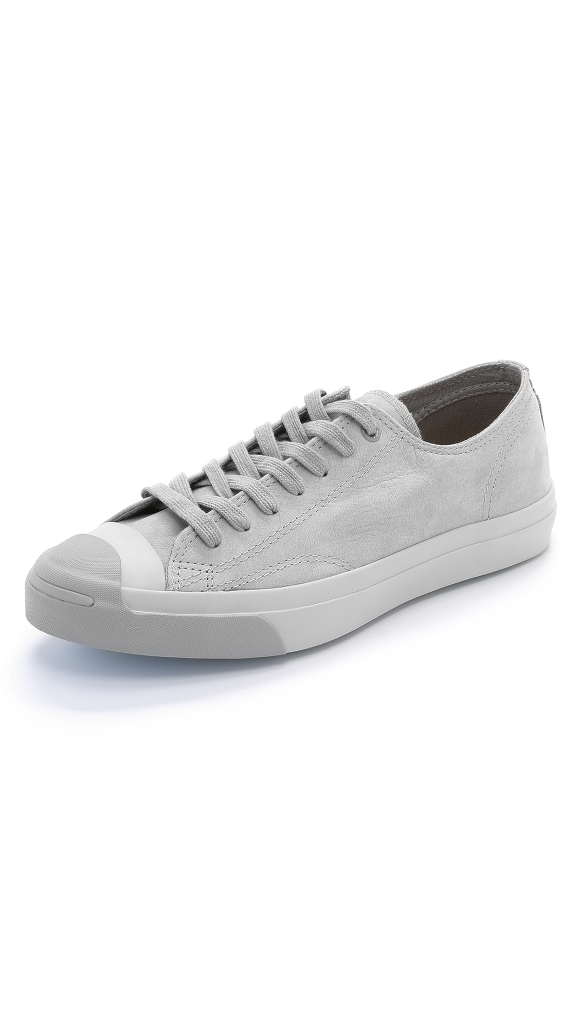 e0e3c7857d13ab Lyst - Converse Jack Purcell Jack Nubuck Sneakers in Gray for Men
