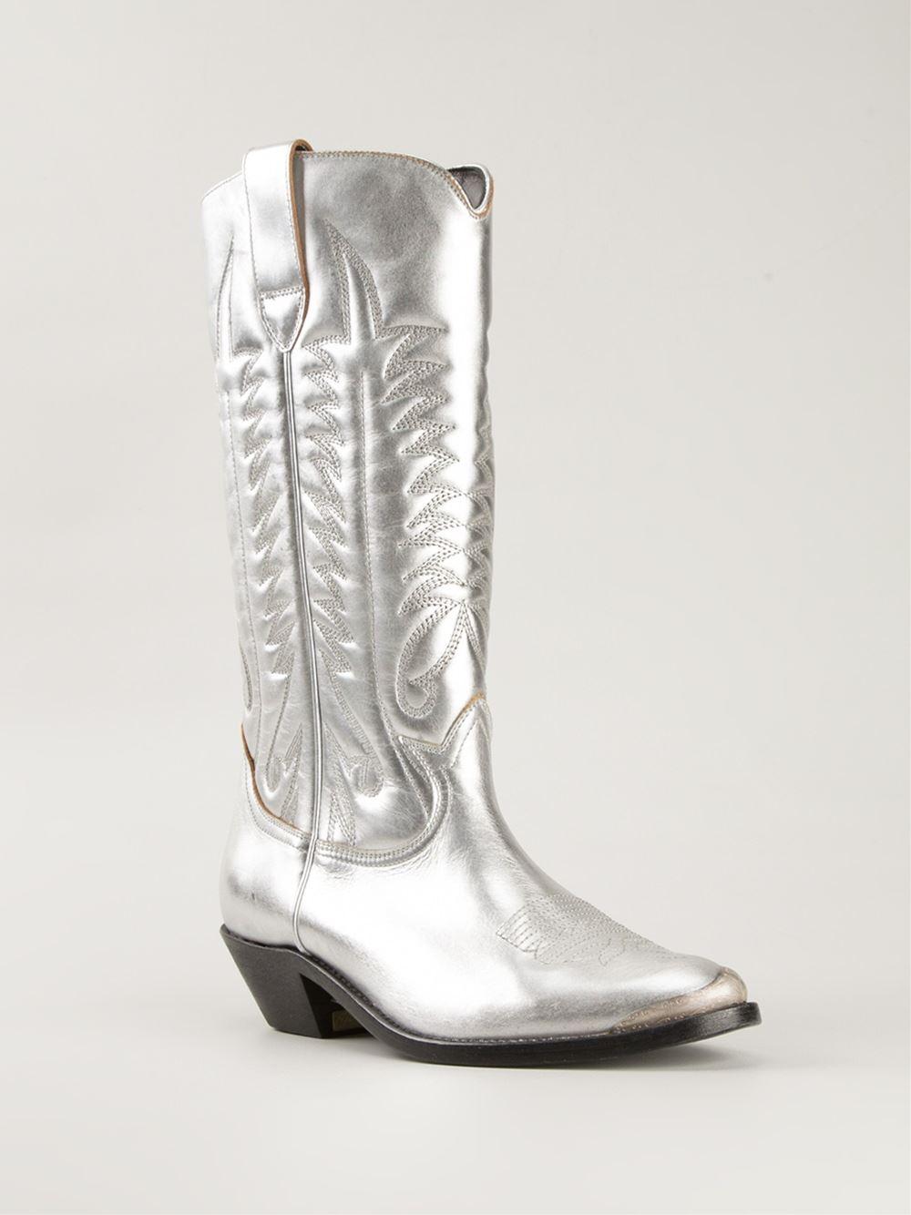 golden goose mens cowboy boots -