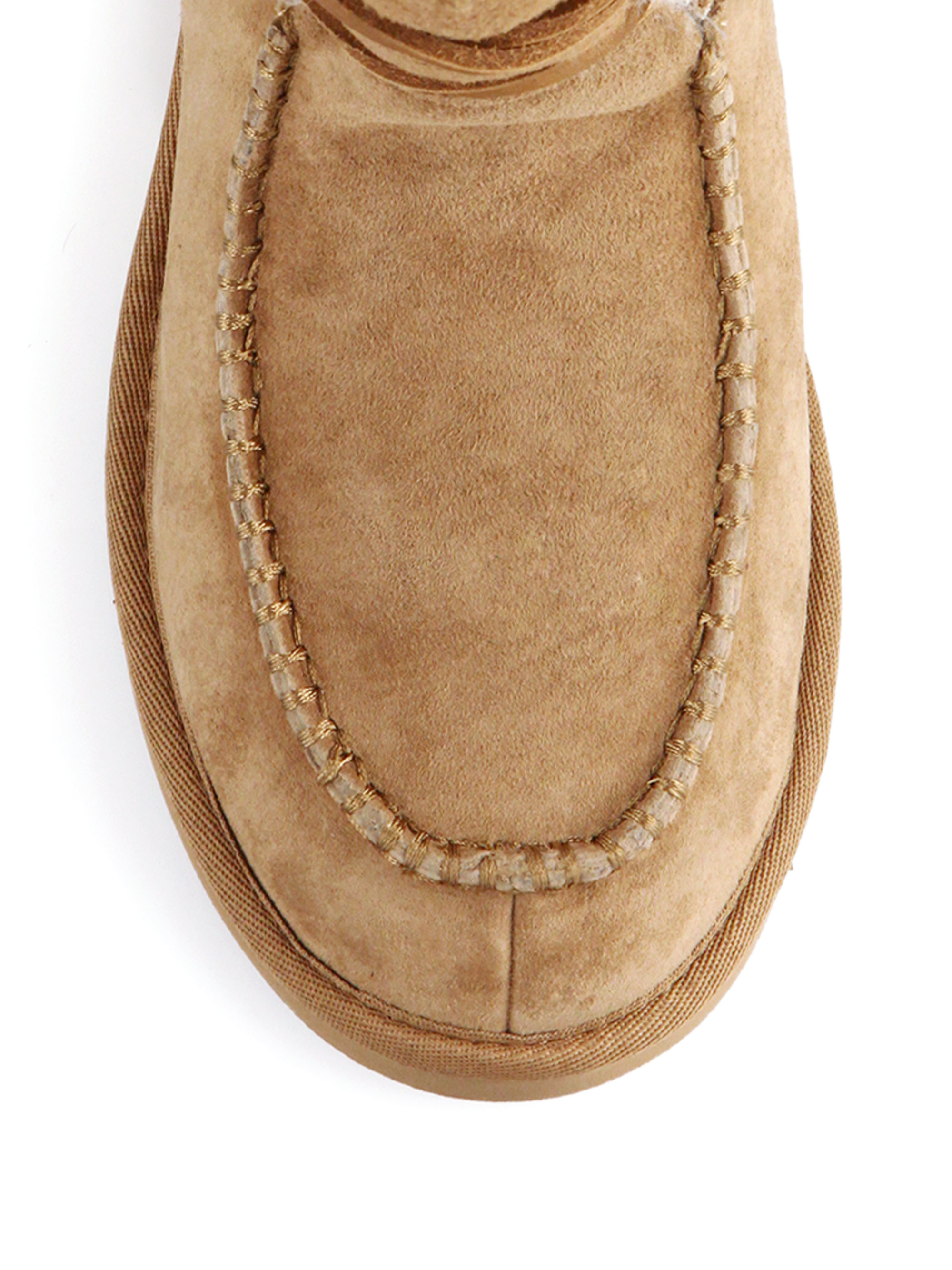 Lyst Ugg Appalachian Lace Up Shearling Lined Suede Boots In Brown