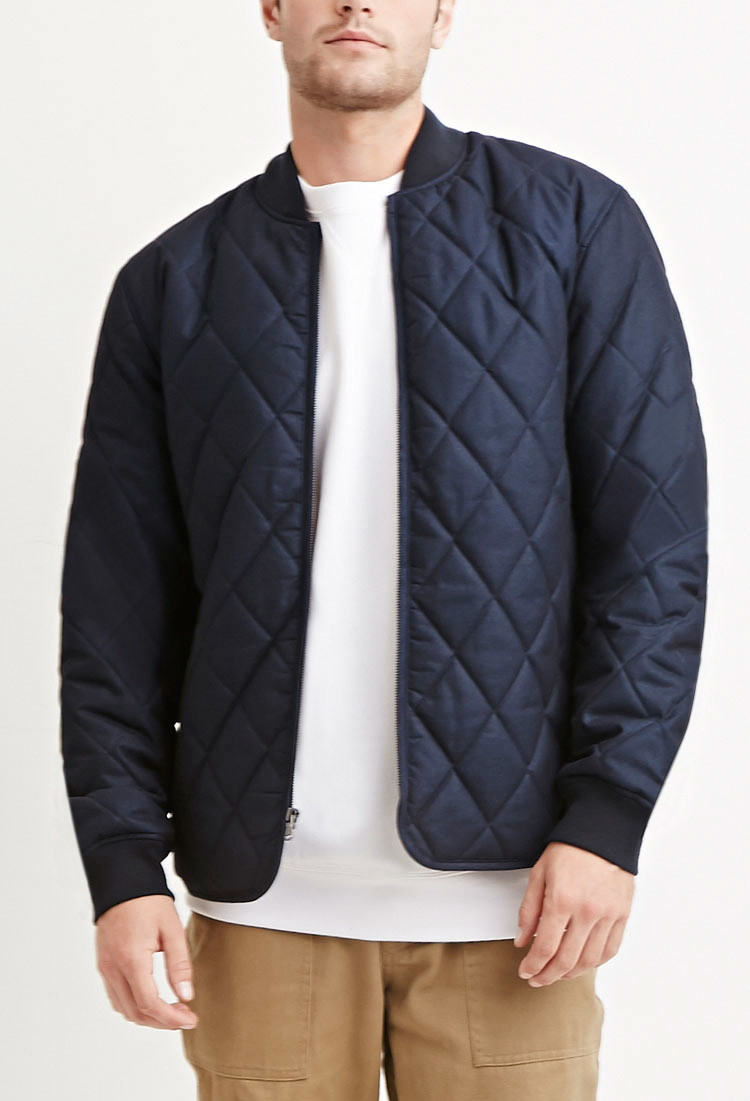 bomber quilted jacket jackets review. Black Bedroom Furniture Sets. Home Design Ideas