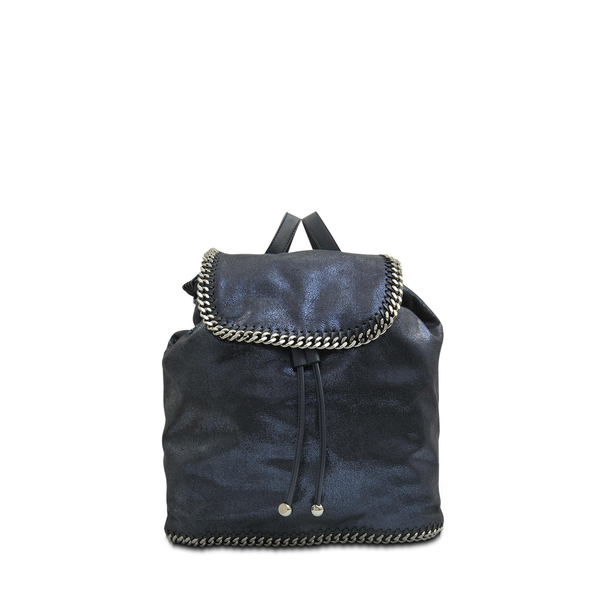 stella mccartney 39 falabella 39 backpack in black lyst. Black Bedroom Furniture Sets. Home Design Ideas