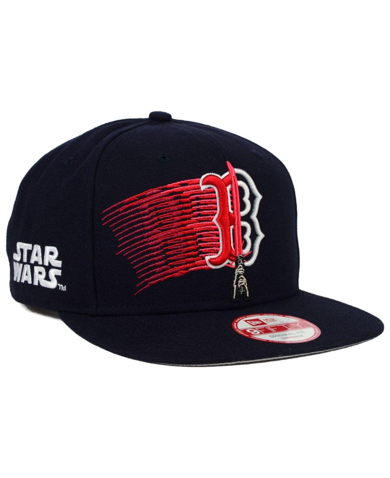 8a4c041390 ... czech lyst ktz boston red sox star wars logoswipe 9fifty snapback cap  in c673c 1f567