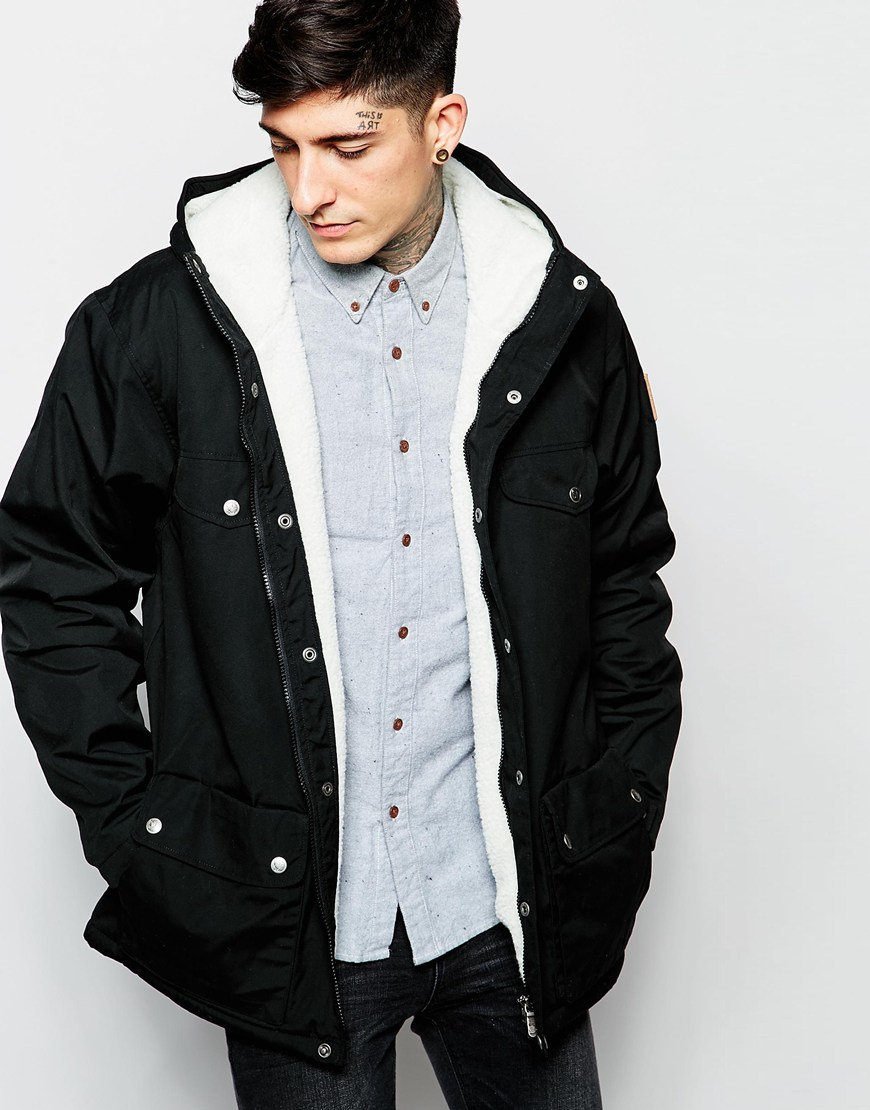 Fjallraven Greenland Winter Jacket In Black For Men Lyst
