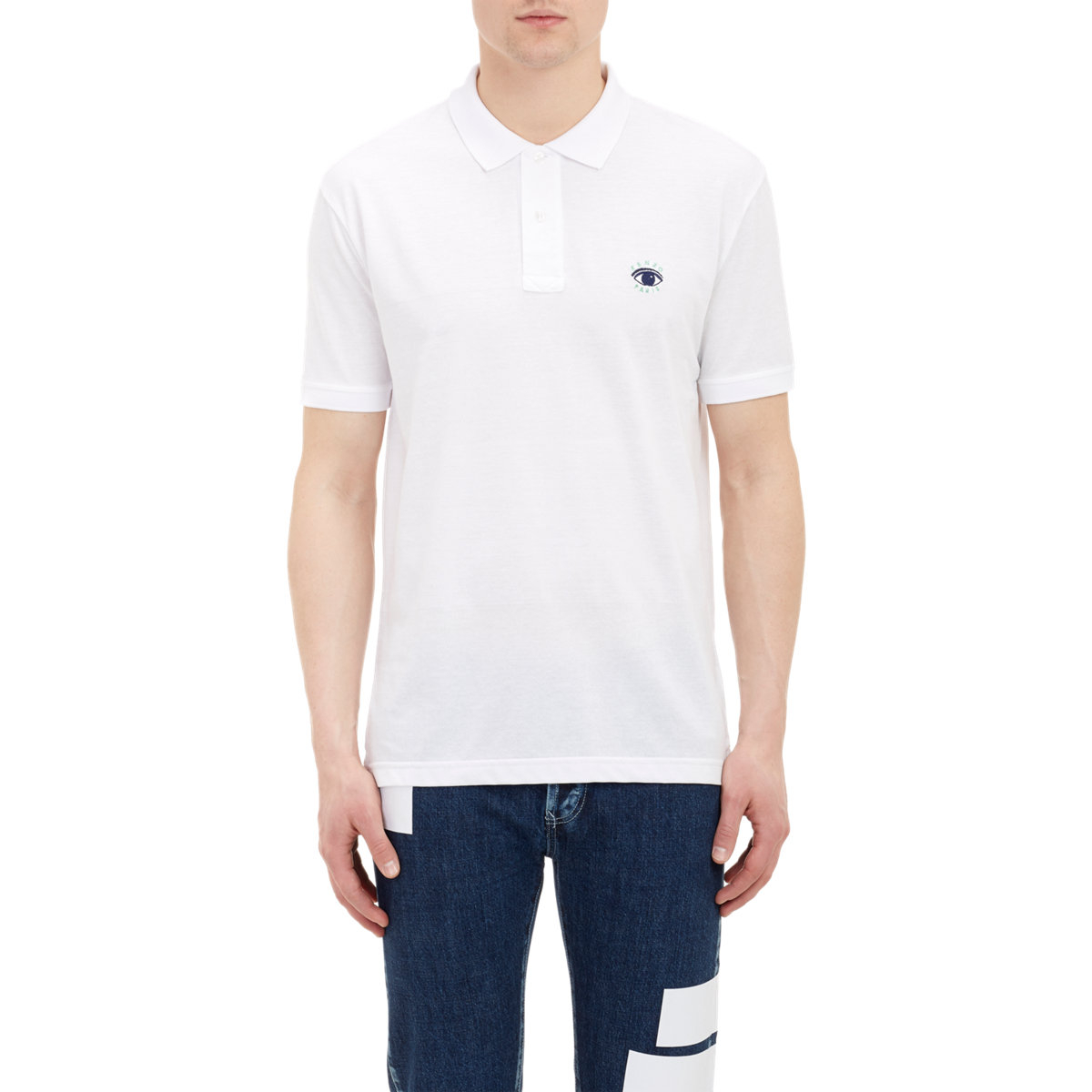 Two Tone Embroidered Polo Shirts - SIS Solutions