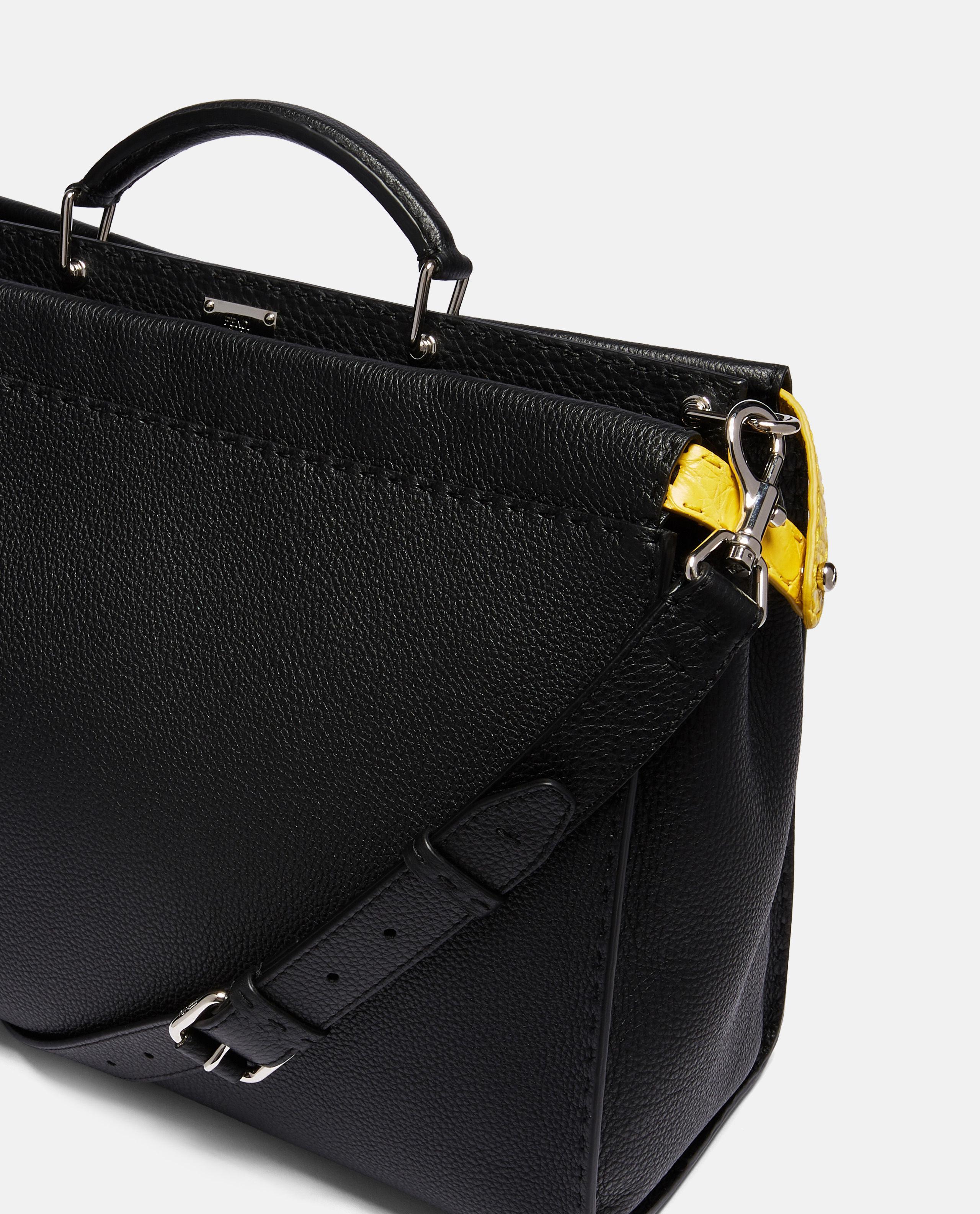 c515036d96c9 Lyst - Fendi Regular Peekaboo Bag in Black for Men