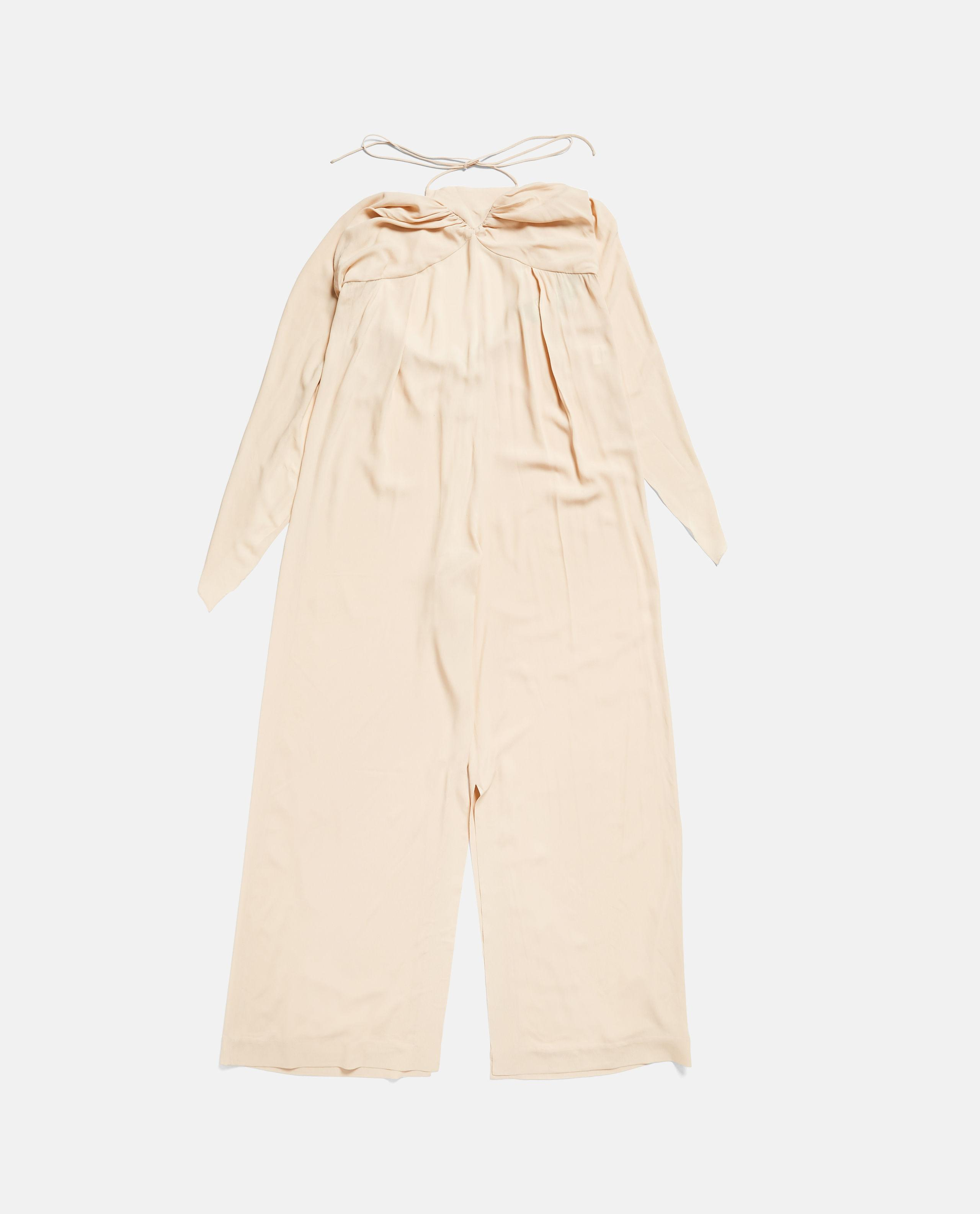 0c1afc1a77 Jacquemus Jumpsuit With Drapery in Natural - Lyst