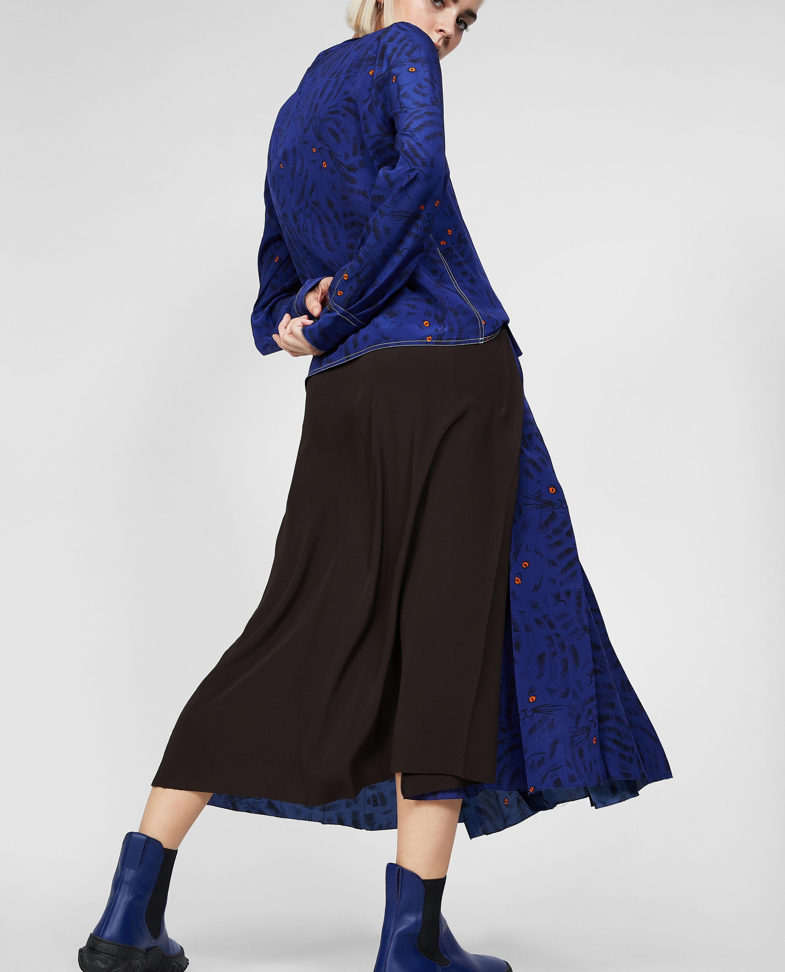 80d95d4da2 Marni Pleated Skirt in Blue - Lyst