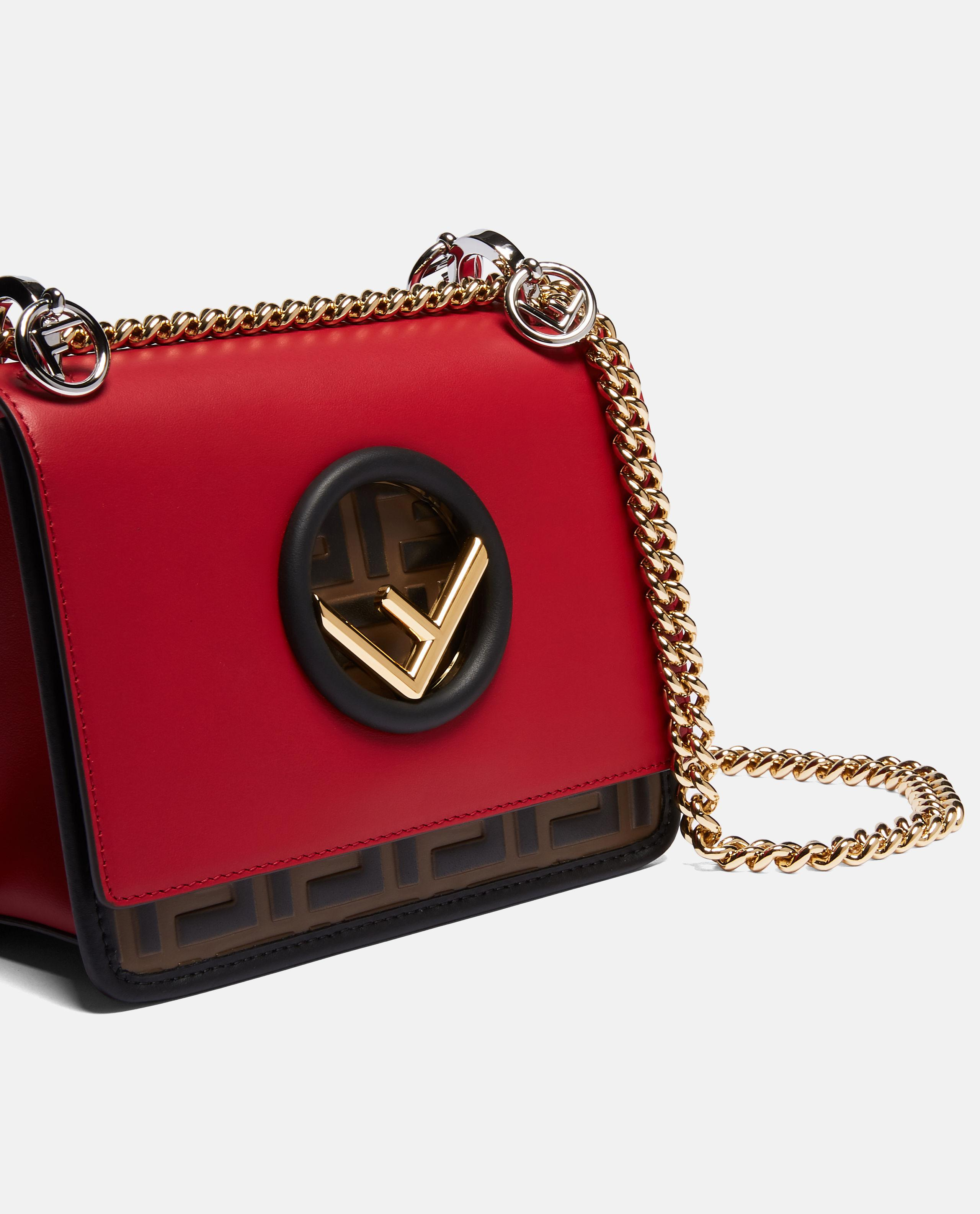 92f6fd65bf04 Fendi Kan I Small Bag in Red - Save 32% - Lyst