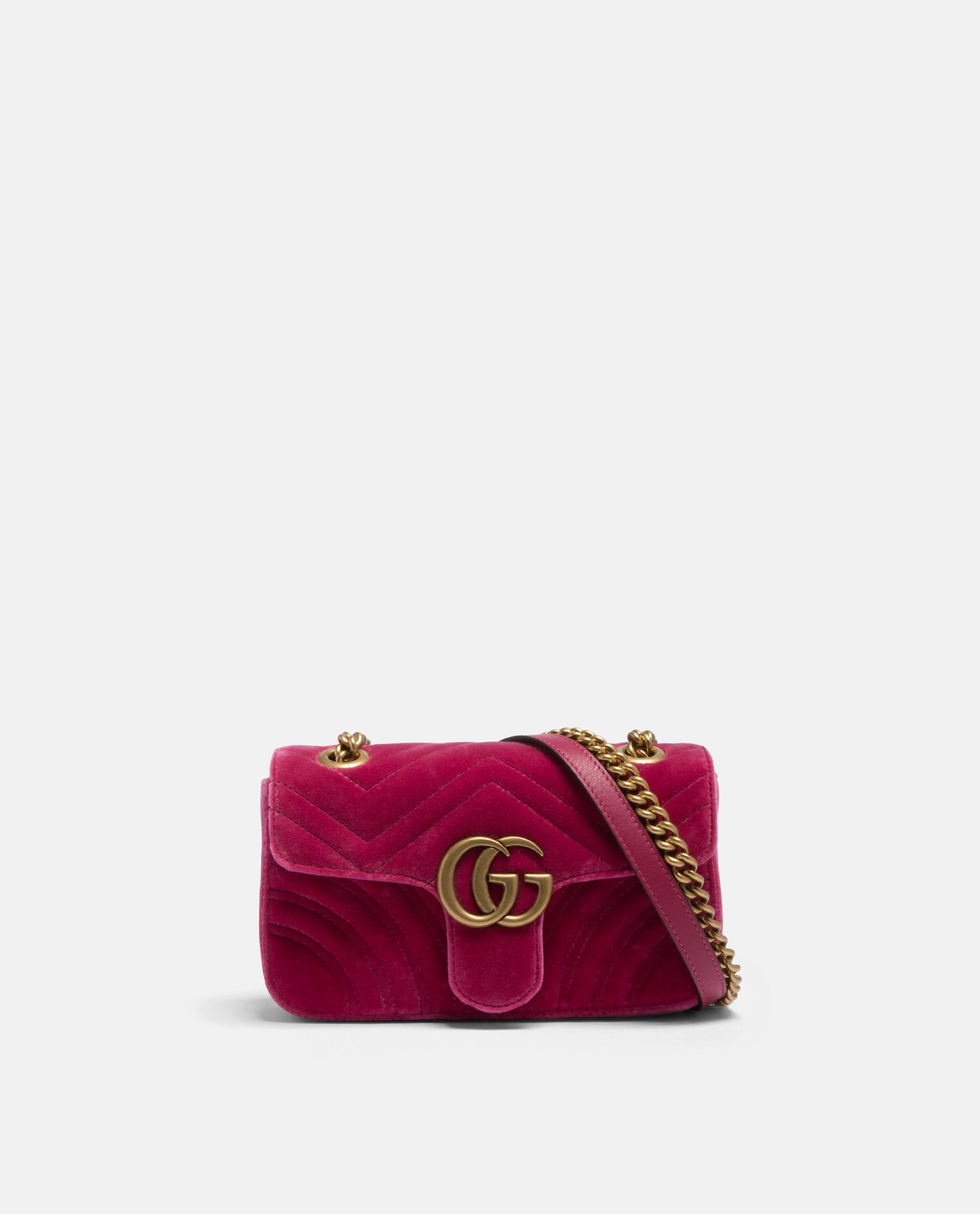 880b08d0e00 Gucci Mini GG Marmont Bag in Pink - Lyst