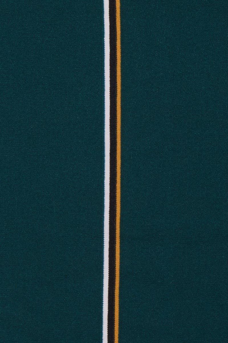 2acc16a875129 Seafolly - Green Aralia High Cut Bikini Bottom - Emerald Stripe Print - Lyst.  View fullscreen
