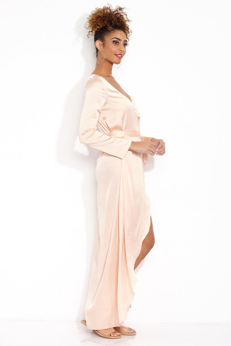 Lyst For Love Lemons La Lydia Wrap Dress In Pink Save